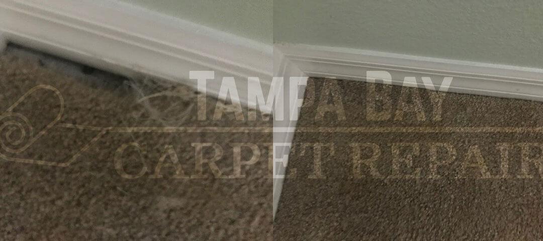 Corner Sliver Carpet Patch